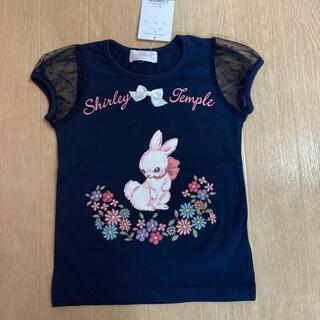 シャーリーテンプル(Shirley Temple)のシャーリーテンプル☆フラワーバニーTシャツ☆100(Tシャツ/カットソー)