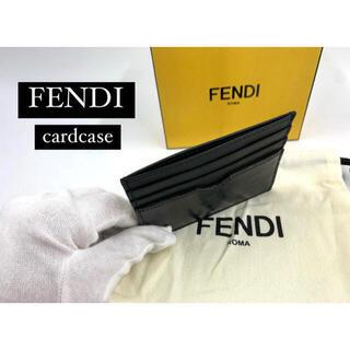 フェンディ(FENDI)のSALE❗️新品☆FENDI フェンディ 定期入れ カードケース  黒 人気(名刺入れ/定期入れ)