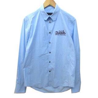 ルイヴィトン(LOUIS VUITTON)のルイヴィトン 近年モデル レギュラー シャツ 長袖 プリント 国内正規 M(シャツ)