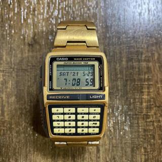 カシオ(CASIO)のCASIO DATABANK waveceptor 電波時計(腕時計(デジタル))