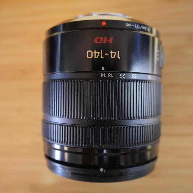 Panasonic(パナソニック)のLUMIX G VARIO14-140mm F3.5-5.6 H-FS14140 スマホ/家電/カメラのカメラ(レンズ(ズーム))の商品写真