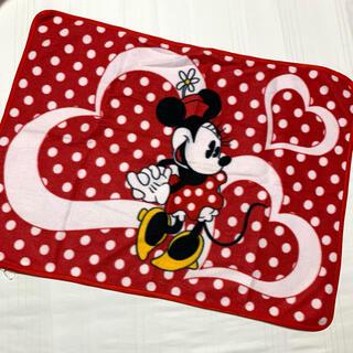 ディズニー(Disney)のDisney  ミニーマウスフリースブランケット(毛布)