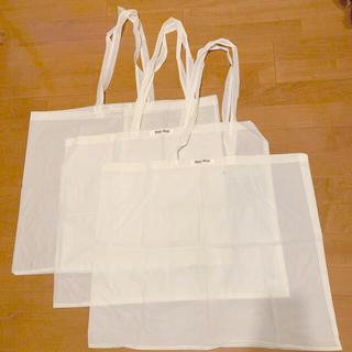 ミュウミュウ(miumiu)の【MIU MIU】初代レア!ショップ袋 ラージサイズ 3枚(ショップ袋)
