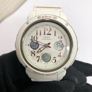 ベビージー(Baby-G)のBABY-G ベビーG  BGA-150EF 5257 ホワイト(腕時計)