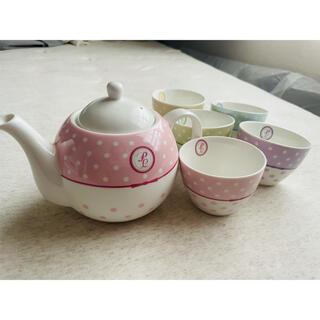 プライベートレーベル(PRIVATE LABEL)の【美品】プライベートレーベルの茶器セット(食器)