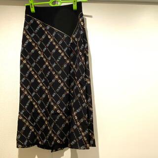 バーバリー(BURBERRY)の新品☆限定価格❗️ バーバリー ロングスカート スカート アパレル 人気 黒(ロングスカート)