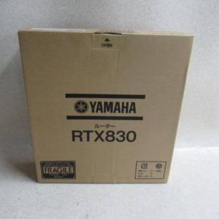 ヤマハ(ヤマハ)のYAMAHA RTX830 ギガアクセスVPNルーター(PC周辺機器)
