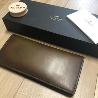 ガンゾ(GANZO)の定価44100円 wildswans ワイルドスワンズ 財布 ウォレット(長財布)