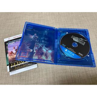 プレイステーション4(PlayStation4)の★送料込み★ソフト★ファイナルファンタジーVII★リメイク★PS4★(家庭用ゲームソフト)