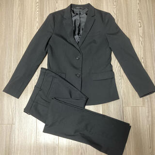ユニクロ(UNIQLO)のUNIQLO スーツ上下セット パンツスーツ 黒(スーツ)
