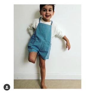 キャラメルベビー&チャイルド(Caramel baby&child )のtiny cottons サロペット(パンツ/スパッツ)