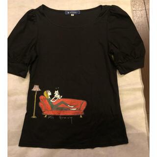 エムズグレイシー(M'S GRACY)のパフスリーブTシャツ 40 美品(Tシャツ(半袖/袖なし))