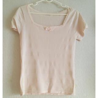 フェルゥ(Feroux)のフェルウ ピンク 半袖(Tシャツ(半袖/袖なし))