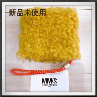 エムエムシックス(MM6)の【新品未使用】MM6 MAISON MARGIELA ボア二つ折り財布(財布)