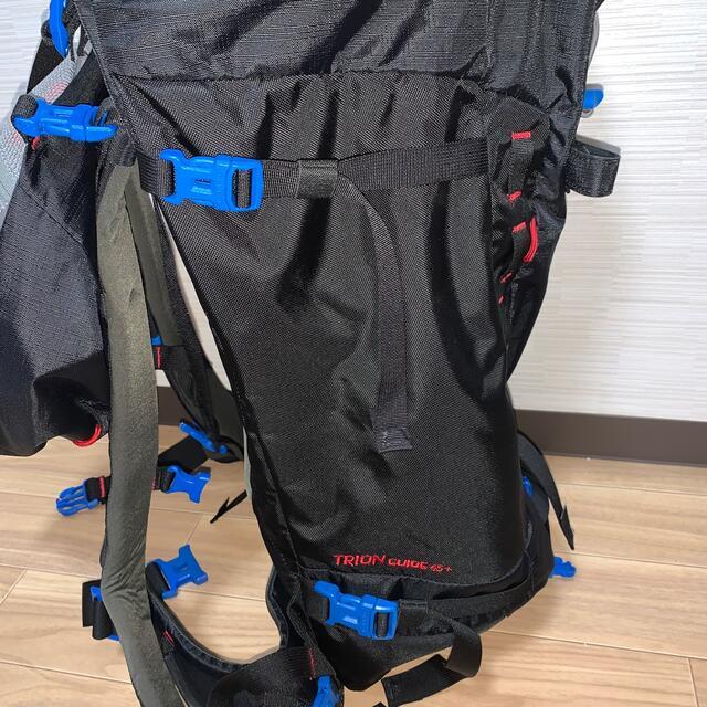 Mammut(マムート)のマムート   トリオンガイド45L ブラック ザックカバー付 スポーツ/アウトドアのアウトドア(登山用品)の商品写真