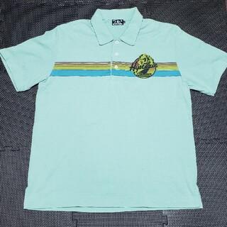 ヒステリックグラマー(HYSTERIC GLAMOUR)のヒステリックグラマー バックプリントロゴ 半袖ポロシャツ(ポロシャツ)
