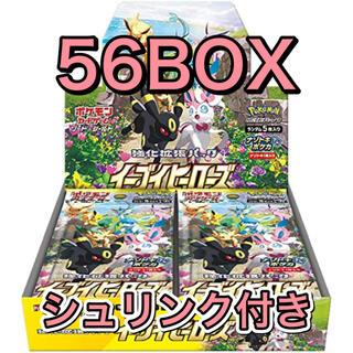 ポケモン(ポケモン)の【新品未開封 正規シュリンク付き】イーブイヒーローズ 拡張56BOX(Box/デッキ/パック)