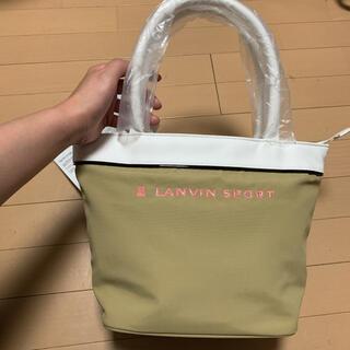 ランバン(LANVIN)の新品定価11000円 デサント  ランバンスポール ゴルフ バッグ(バッグ)