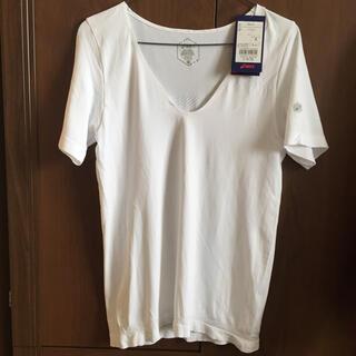 アシックス(asics)のアシックス) asics レディーストレーニングウエア クール半袖シャツ(Tシャツ(半袖/袖なし))