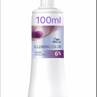 WELLA - ウエラ イルミナ クリームデベロッパー オキシ6% 約100ml(第2剤)