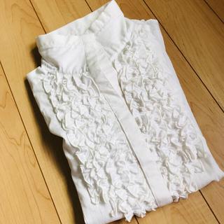 SHIRTS CODE■ホワイトシャツ ブラウス(シャツ/ブラウス(長袖/七分))