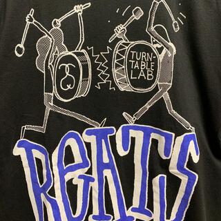 ステューシー(STUSSY)の2008年製 Stussy x Turntable Lab - Beats(Tシャツ/カットソー(半袖/袖なし))