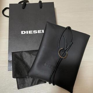 ディーゼル(DIESEL)のDIESEL ショッパー レザー調ギフト包装(ショップ袋)