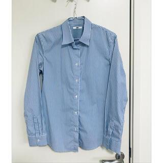 ユニクロ(UNIQLO)のユニクロ■ストライプシャツ(シャツ/ブラウス(長袖/七分))
