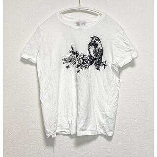 レッドヴァレンティノ(RED VALENTINO)のRED VALENTINO バレンチノ 刺繍 Tシャツ(Tシャツ(半袖/袖なし))