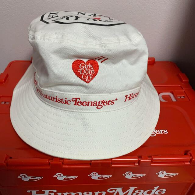 Supreme(シュプリーム)のGirls Don't Cry × Human Made ハット メンズの帽子(ハット)の商品写真