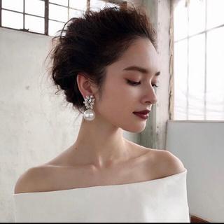 ヴェラウォン(Vera Wang)のben amun パール イヤリング(イヤリング)