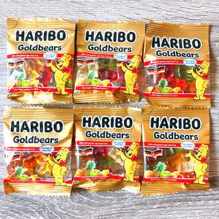 ハリボー ゴールドベアー グミ 10g✖️6袋 301円送料込み コストコ(菓子/デザート)