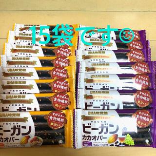 UHA味覚糖 ビーガンカカオバー 2種類 15袋