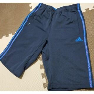アディダス(adidas)の☆adidas アディダス ハーフパンツ ネイビー&ブルー サイズL(ショートパンツ)