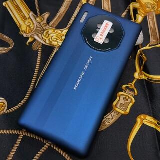 ファーウェイ(HUAWEI)のHUAWEI Mate30 Pro ポルシェデザインケース ブルー 新品(Androidケース)