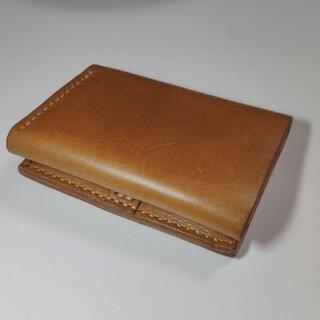 エムピウ(m+)のエムピウ ストラッチョ風 ハンドメイド作品(折り財布)