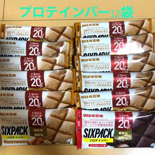 ユーハミカクトウ(UHA味覚糖)のUHA味覚糖 プロテインバー SIXPACK       キャラメルピーナッツ味(プロテイン)