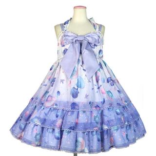 アンジェリックプリティー(Angelic Pretty)のDream Marine Brilliant Colorジャンパースカートセット(ひざ丈ワンピース)