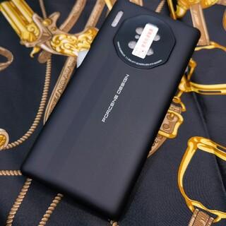 ファーウェイ(HUAWEI)のHUAWEI Mate30 Pro ポルシェデザインケース ブラック 新品(Androidケース)