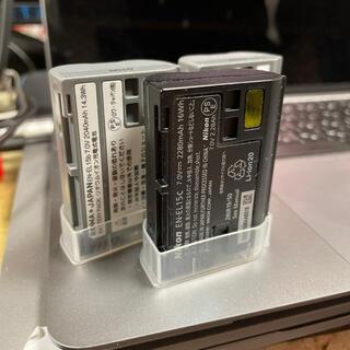 ニコン(Nikon)のNikon Z系バッテリーEL-15Cと汎用性品2個セット※送料込み(デジタル一眼)