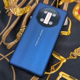 ファーウェイ(HUAWEI)のHUAWEI Mate40 Pro ポルシェデザインケース ブルー 新品(Androidケース)