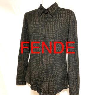 フェンディ(FENDI)のFENDE ブラウス シャツ(シャツ/ブラウス(長袖/七分))