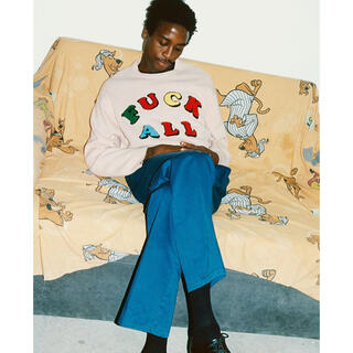 シュプリーム(Supreme)のsupreme jamie reid fuck all sweater S(ニット/セーター)