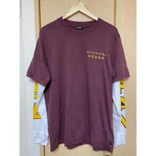 ディーゼル(DIESEL)のDIESEL 長袖 ロンt レイヤード(Tシャツ/カットソー(七分/長袖))