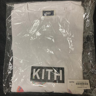 KEITH - KITH box logo Tシャツ L ボックスロゴ vans supreme