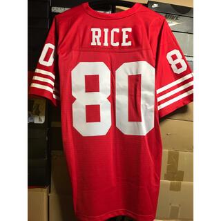 ナイキ(NIKE)のNFL SF 49ers ジェリーライス スローバック ジャージ ユニフォーム(アメリカンフットボール)