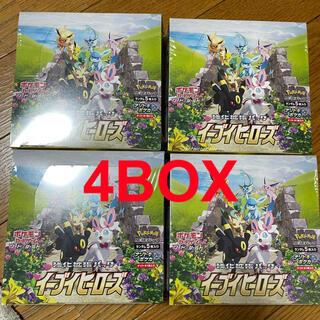 イーブイヒーローズ 拡張 4box シュリンク付き(Box/デッキ/パック)