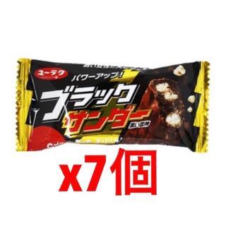 ブラックサンダー x7個(フード/ドリンク券)