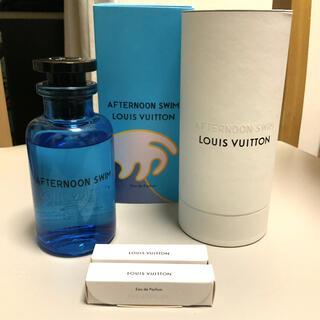 ルイヴィトン(LOUIS VUITTON)のLOUIS VUITTON AFTERNOON SWIM +サンプル2本(香水(男性用))