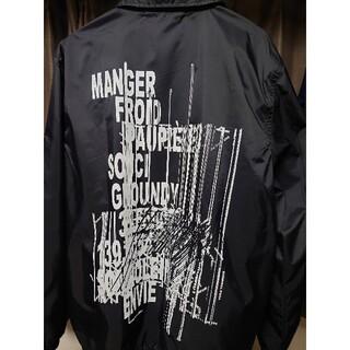 ヨウジヤマモト(Yohji Yamamoto)のRandom Logo Nylon Coach Jacket Type B(ナイロンジャケット)